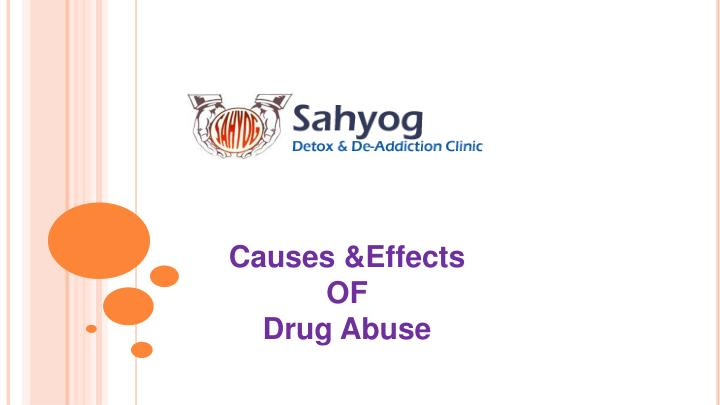 Causes &Effects