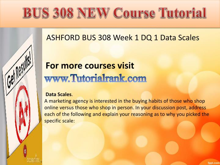 Abs 415 ash course tutorial