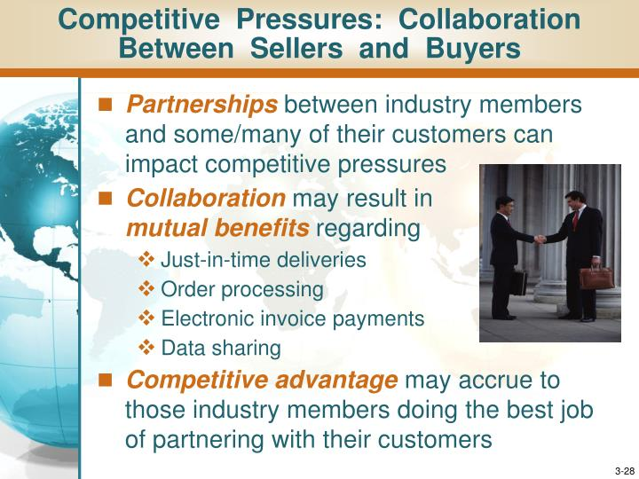 Competitive  Pressures:  Collaboration