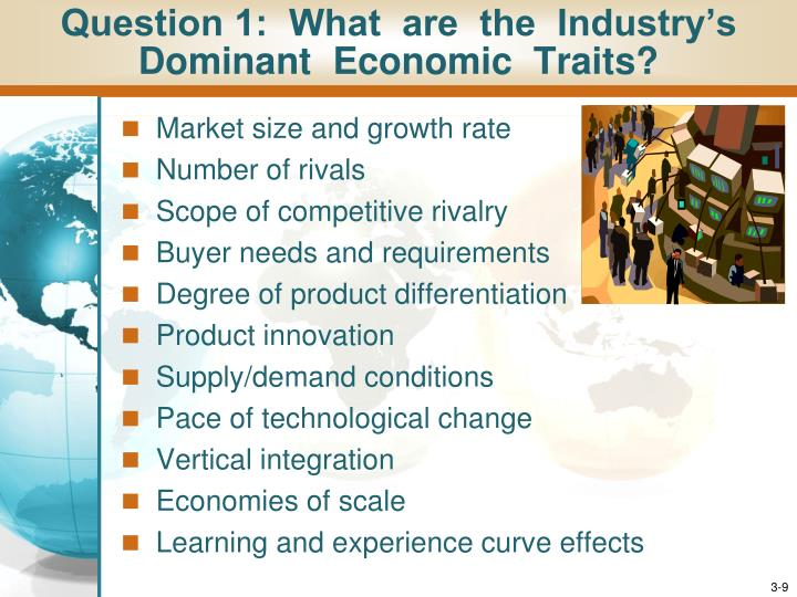 Question 1:  What  are  the  Industry's