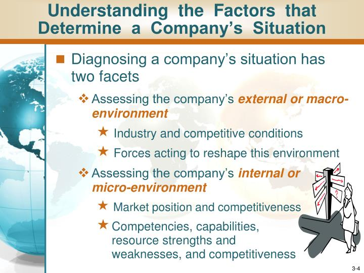 Understanding  the  Factors  that  Determine  a  Company's  Situation