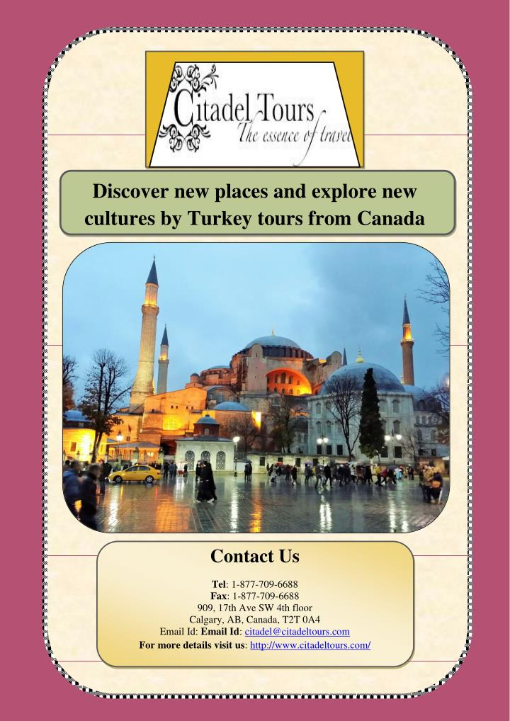 Discover new places and explore new