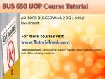 abs 415 ash course tutorial4
