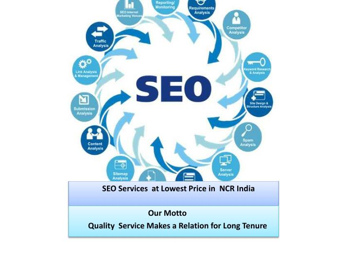 SEO Services  at Lowest Price
