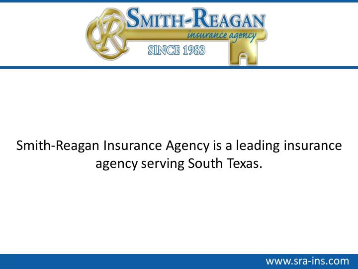 Smith-Reagan Insurance Agency is a leading insurance