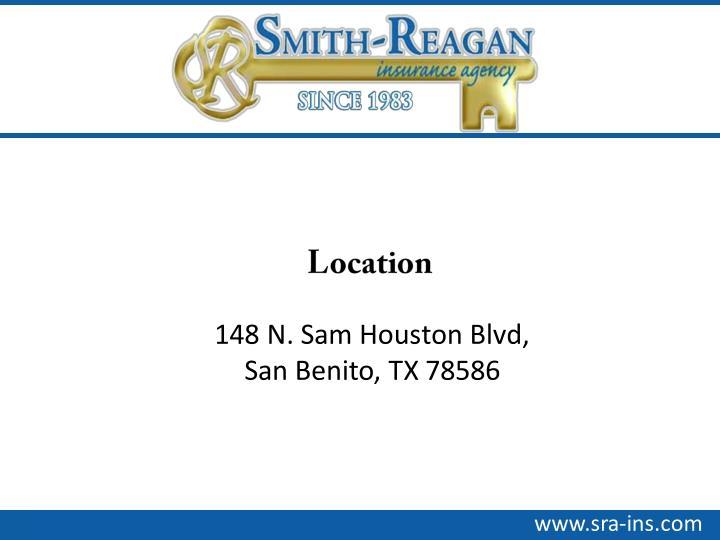 148 N. Sam Houston Blvd,