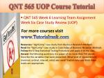 qnt 565 uop course tutorial26