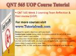 qnt 565 uop course tutorial8