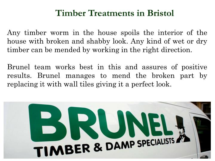 Timber Treatments in Bristol