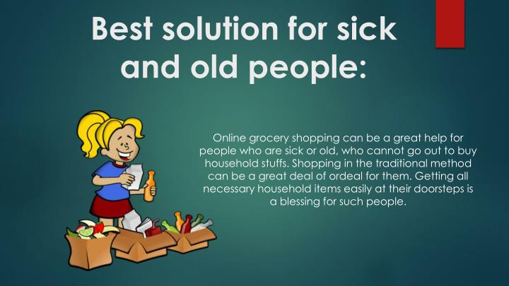 Best solution for sick