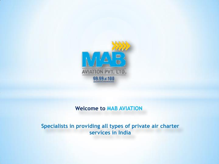 Aircraft Charter & Rental