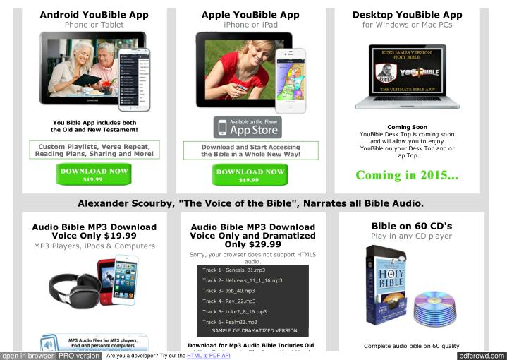 Android YouBible App
