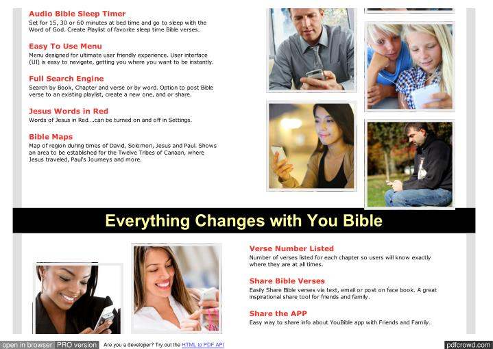 Audio Bible Sleep Timer