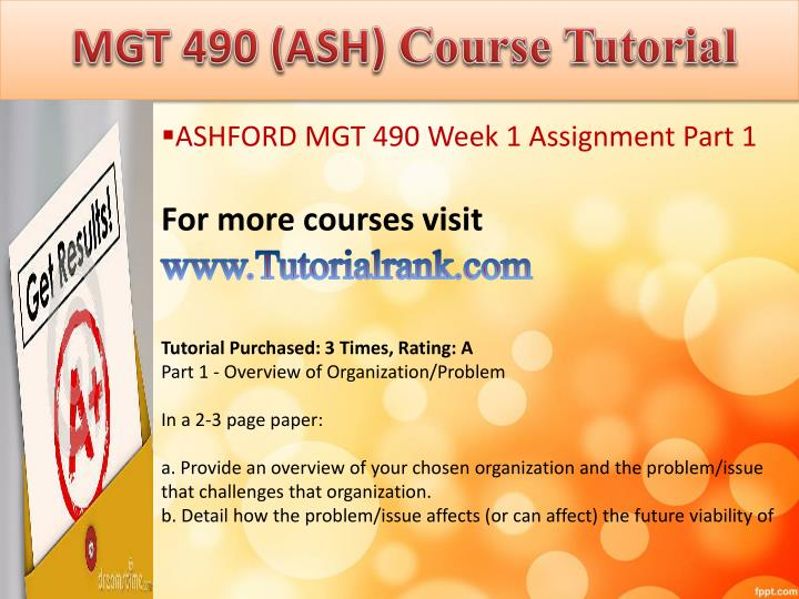 Abs 415 ash course tutorial1