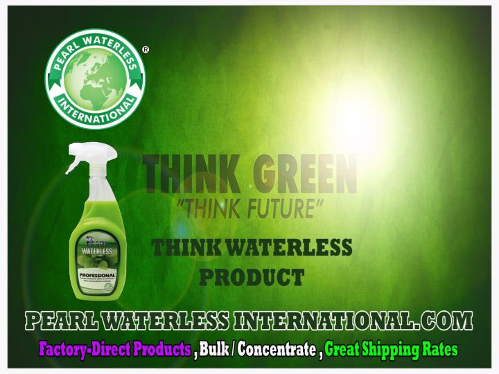 Pearl waterless auto care products