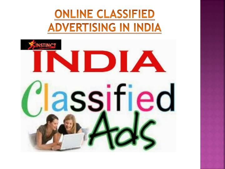 ONLINE CLASSIFIED