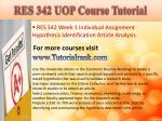 res 342 uop course tutorial2