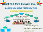 mgt 420 uop tutorial course9