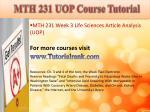 abs 415 ash course tutorial6