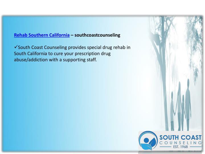 Rehab Southern California