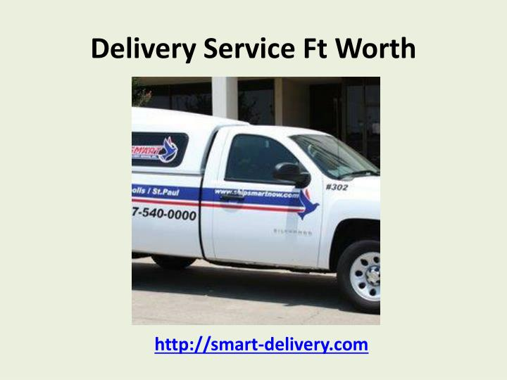 Delivery service ft worth