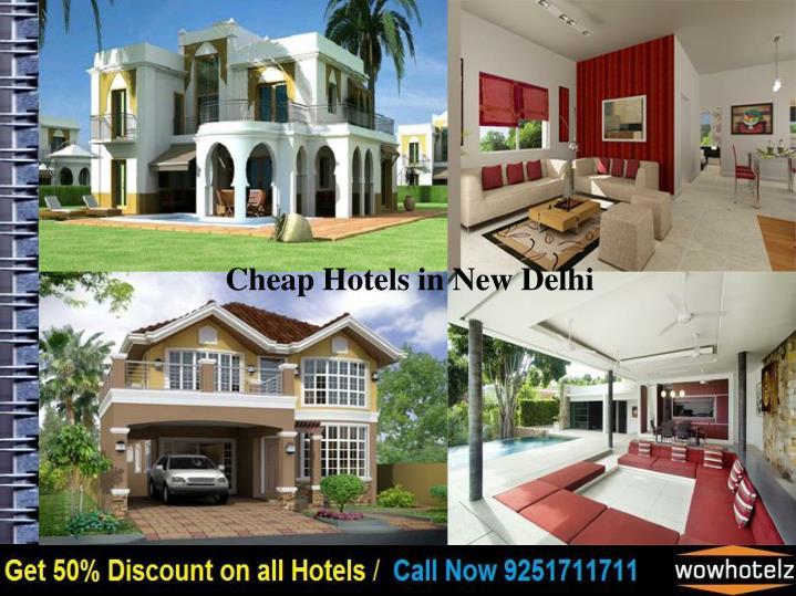 Cheap Hotels in New Delhi
