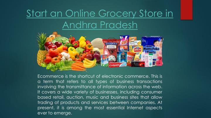 Start an Online Grocery Store in Andhra Pradesh