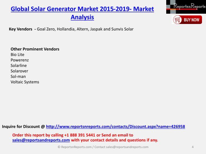 Key Vendors  -