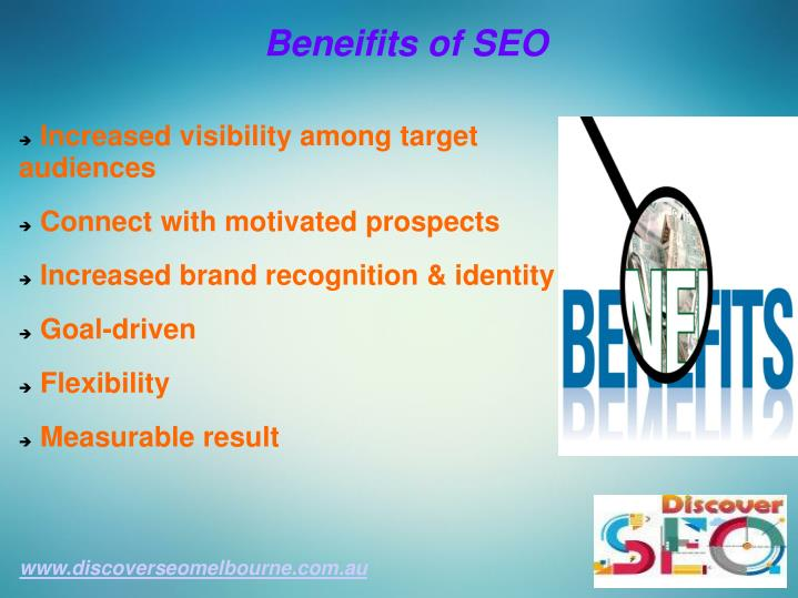 Beneifits of SEO