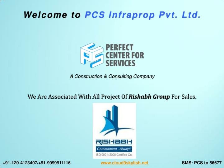 Welcome to PCS Infraprop Pvt. Ltd.
