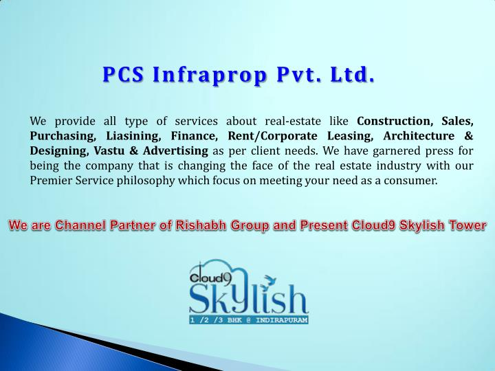 PCS Infraprop Pvt. Ltd.