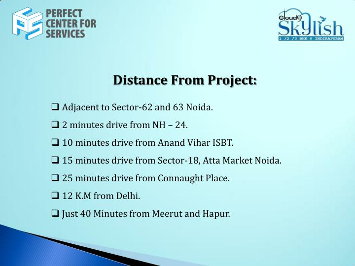 Distance From Project: