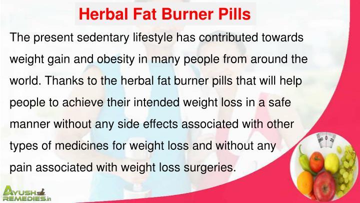 Herbal Fat Burner Pills