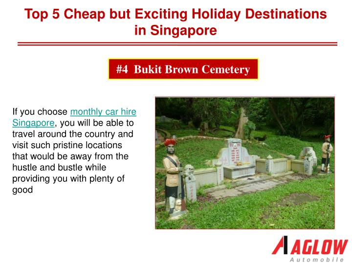 Top 5 Cheap but Exciting Holiday Destinations in Singapore
