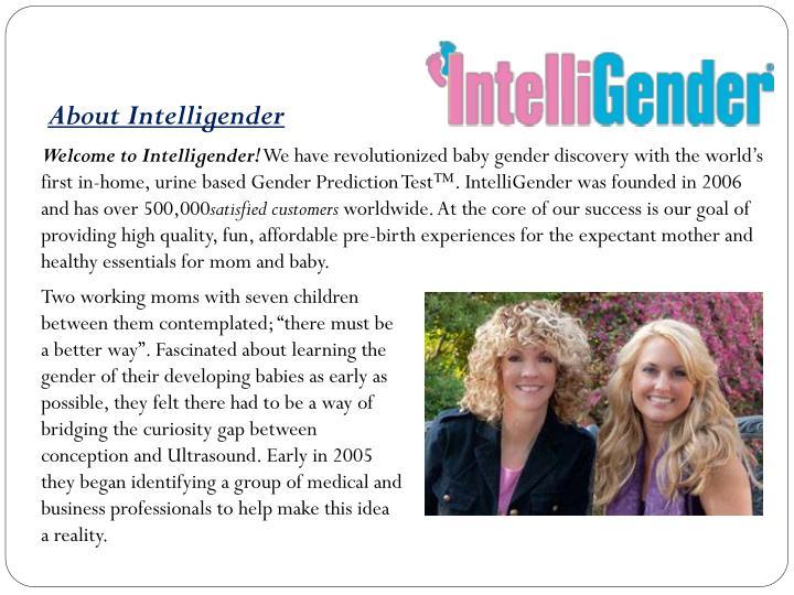About Intelligender