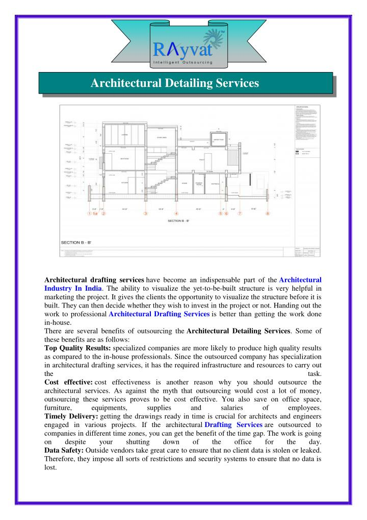 Architectural Detailing Services