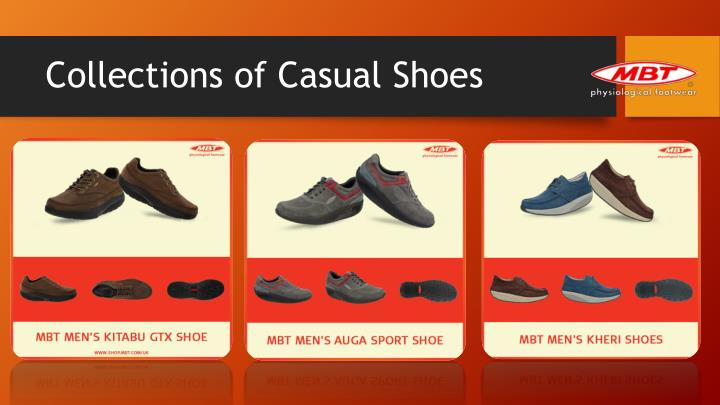 Collections of Casual Shoes