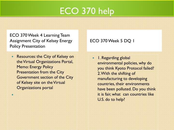 ECO 370 help