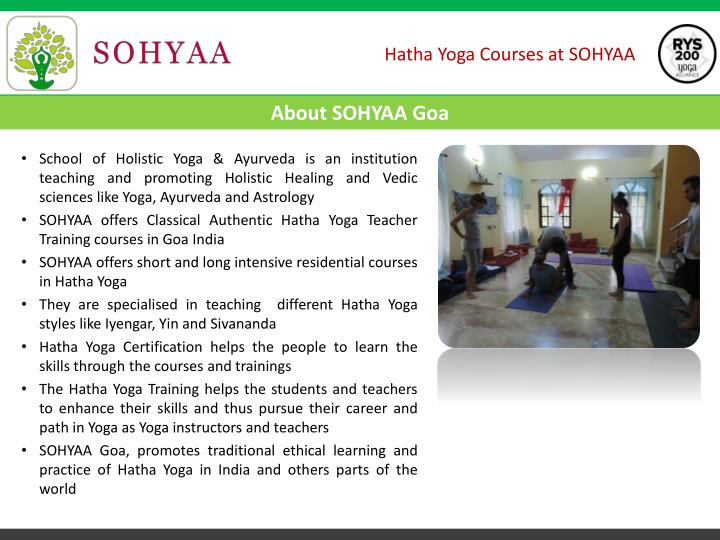 School of Holistic Yoga &