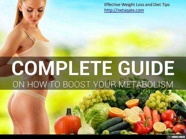 Effective Weight Loss and Diet Tips