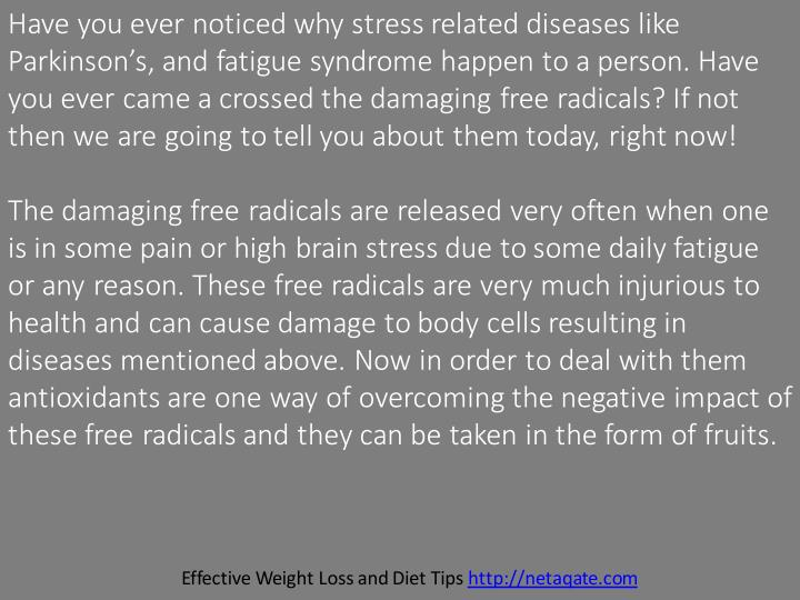 Have you ever noticed why stress related diseases like