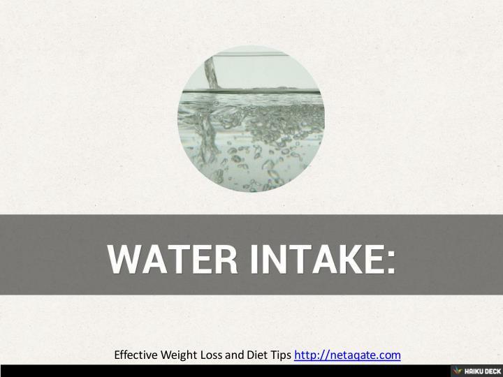 Effective Weight Loss and Diet Tips http://netaqate.com