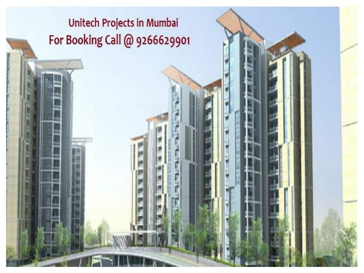 Unitech projects in mumbai 9266629901