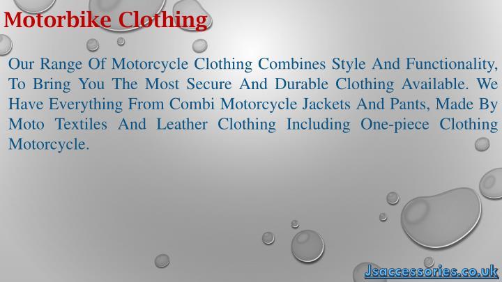 Motorbike Clothing