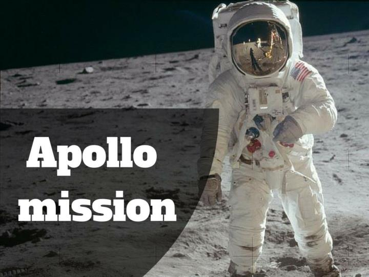 Apollo mission to the moon