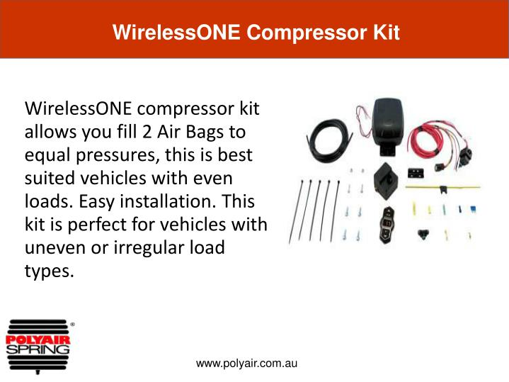 WirelessONE Compressor Kit