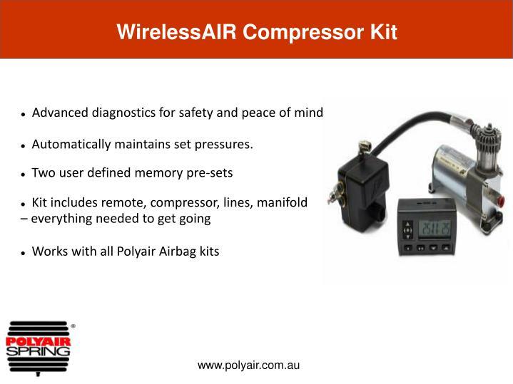 WirelessAIR Compressor Kit