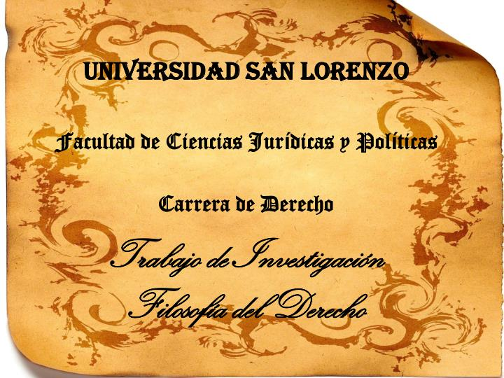 Universidad San Lorenz