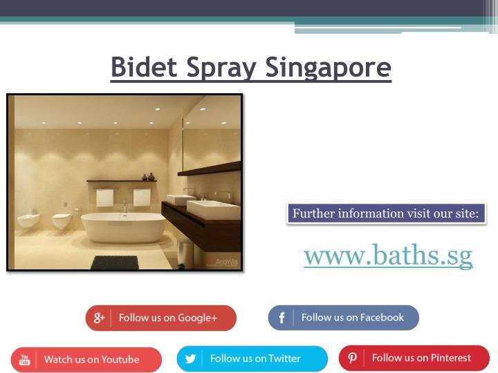 Bidet Spray Singapore