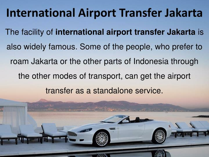 International Airport Transfer